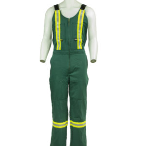 Unlined Flame Resistant Bib Overall
